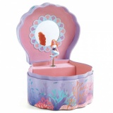Djeco Musical Jewellery Box - Enchanted Mermaid DJ06083